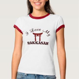 Camiseta Eu amo meu RAKKASAN