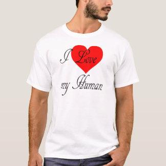 Camiseta Eu amo meu ser humano