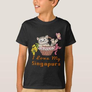 Camiseta Eu amo meu Singapura