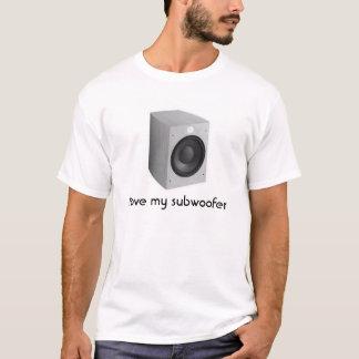 Camiseta Eu amo meu sub