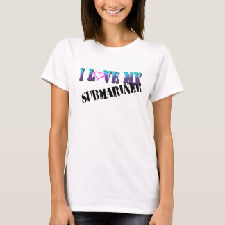 Camiseta Eu amo meu submarinista