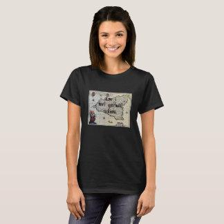 Camiseta Eu amo meu t-shirt feito sob encomenda siciliano