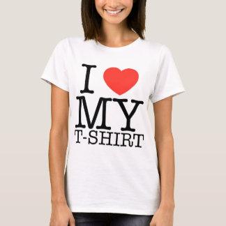 Camiseta Eu amo meu t-shirt - RetroMe - t-shirt