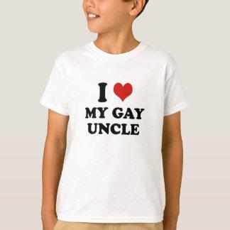 Camiseta Eu amo meu tio alegre