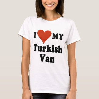 Camiseta Eu amo meu Turco Van Gato