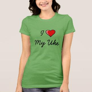 Camiseta Eu amo meu Uke