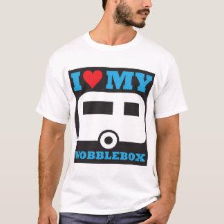 Camiseta Eu amo minha caixa do balanço
