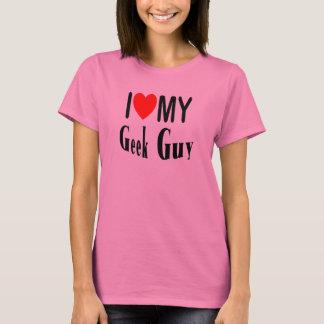 Camiseta Eu amo minha cara do geek