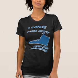 Camiseta Eu amo minha cidade - T-camisa de Rio de Janeiro