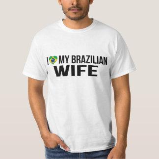 Camiseta Eu amo minha esposa brasileira