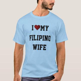 CAMISETA EU AMO MINHA ESPOSA FILIPINA