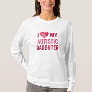 Camiseta Eu amo minha filha