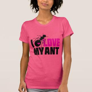 Camiseta Eu amo minha formiga