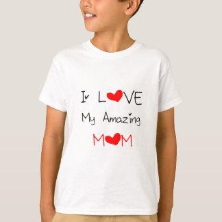 Camiseta Eu amo minha mamã surpreendente