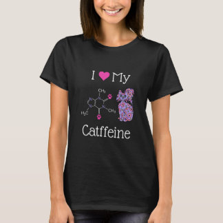 Camiseta Eu amo minha obscuridade engraçada do gato roxo da