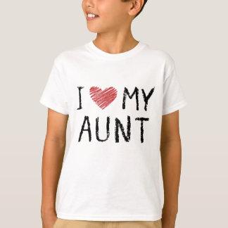 Camiseta Eu amo minha tia
