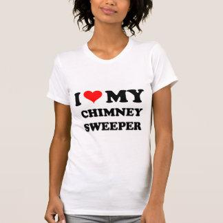 Camiseta Eu amo minha vassoura da chaminé