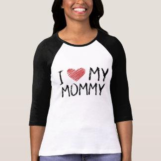Camiseta Eu amo minhas mamães