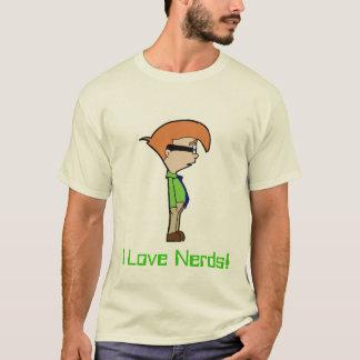 Camiseta Eu amo nerd!