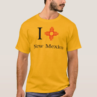 Camiseta Eu amo New mexico