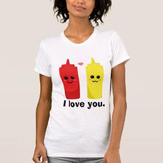 Camiseta Eu amo-o