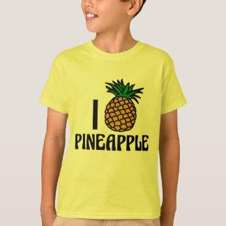 Camiseta Eu amo o abacaxi