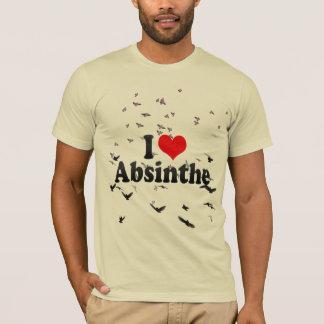 Camiseta Eu amo o absinto