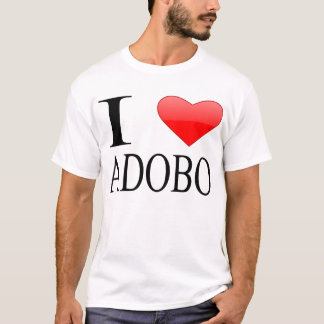 Camiseta Eu amo o Adobo