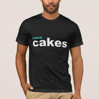 Camiseta eu amo o aqua dos bolos