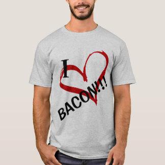 Camiseta Eu amo o bacon