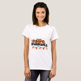Camiseta Eu amo o basquetebol