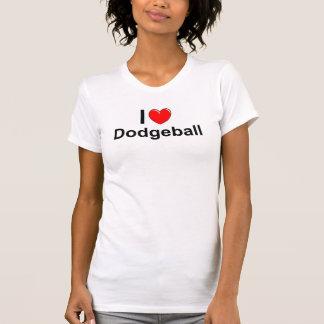Camiseta Eu amo o coração Dodgeball