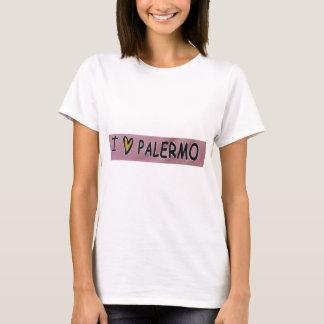 Camiseta Eu amo o design de Palermo