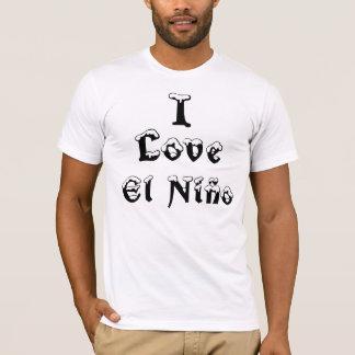Camiseta Eu amo o EL Niño
