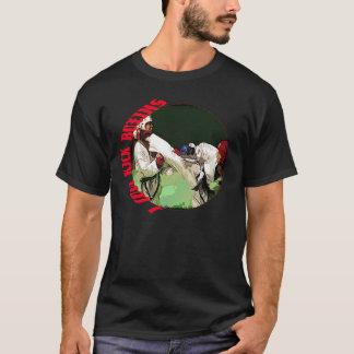 Camiseta Eu amo o encaixotamento de pontapé