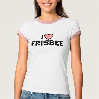 Camiseta Eu amo o Frisbee