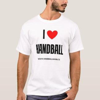 Camiseta Eu amo o handball
