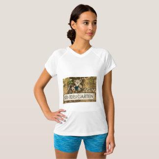 Camiseta Eu amo o jardim de infância