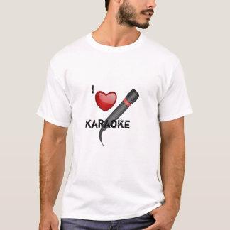 Camiseta Eu amo o karaoke