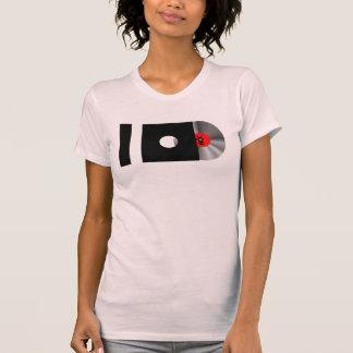 Camiseta EU AMO o logotipo grande da MÚSICA