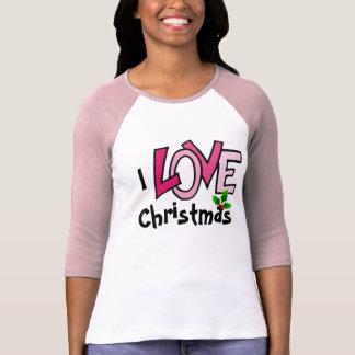 Camiseta EU AMO o Natal - tshirt