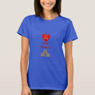 Camiseta Eu amo o papa Francis