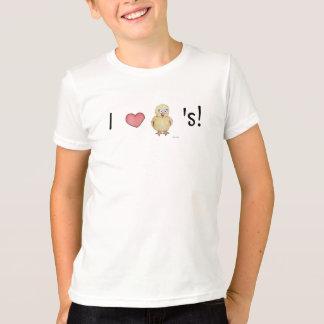 Camiseta Eu amo o pintinho que dos pintinhos as meninas