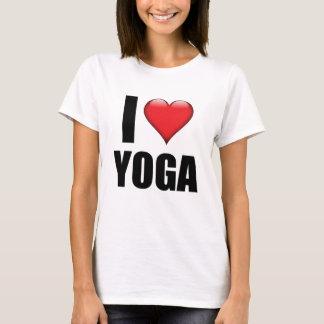 Camiseta Eu amo o presente do tshirt da ioga