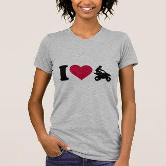Camiseta Eu amo o quadrilátero de ATV