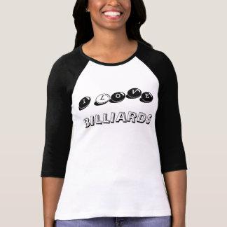 Camiseta Eu amo o T da bola de sugestão das senhoras dos