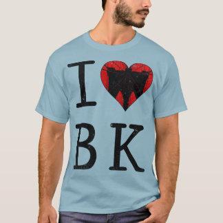 Camiseta Eu amo o T de Brooklyn BK New York