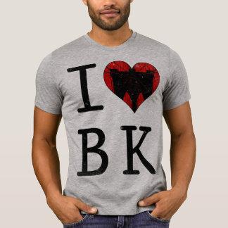 Camiseta Eu amo o T de Brooklyn BK NYC