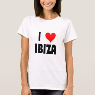 Camiseta Eu amo o T de Ibiza