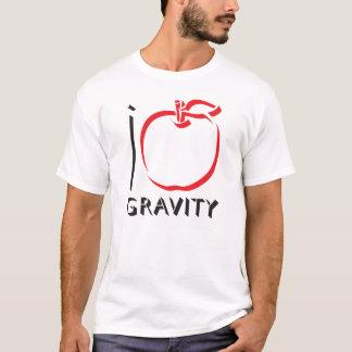 Camiseta EU AMO o t-shirt da GRAVIDADE